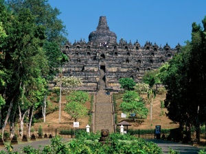 Borobudur%2C+Java%2C+Indonesia
