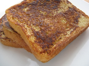 I ate French toast today